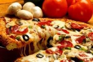 Пицца как экзотическое блюдо