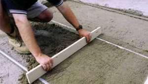 Методика полусухой стяжки напольного покрытия от профессионалов своего дела