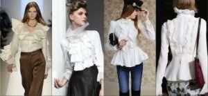 С чем носить модные женские блузки