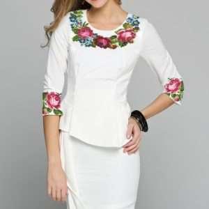 Как выбрать платье-вышиванку по фигуре