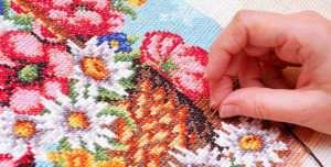 Особенности вышивания крестиком | Канва для вышивания в Челябинске