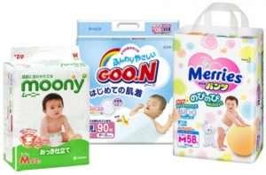 Moony – подгузники японского качества