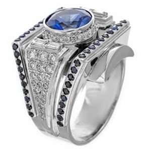 Кольца –печатки из белого золота: стиль и строгость