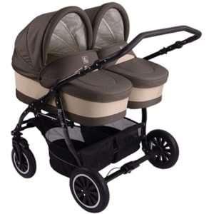 Какими критериями руководствоваться при выборе коляски для двойни?