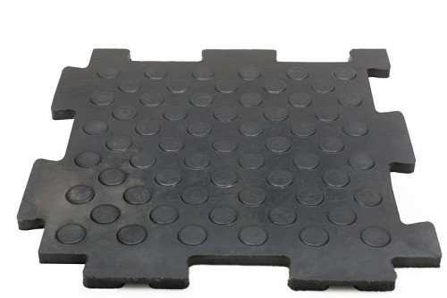 Резиновая плитка для помещений