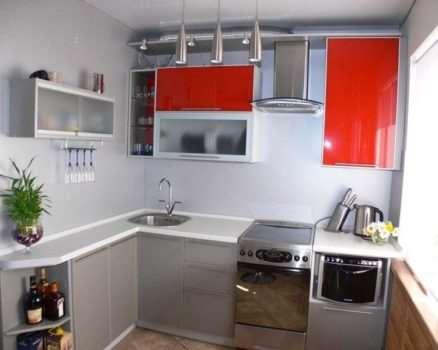 Как лучше использовать помещение маленькой кухни.