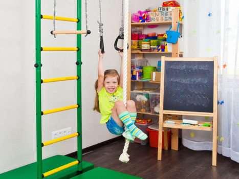 Шведская стенка для темпераментных или флегматичных детей