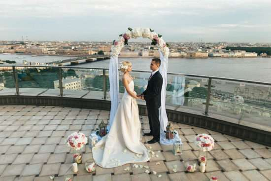 Свадьба с размахом в Петербурге