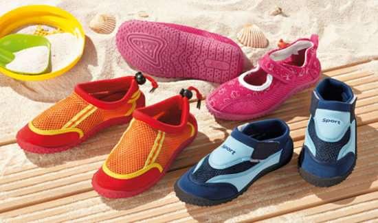 Правильный выбор пляжной обуви для ребенка