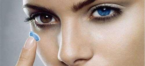 Цветные контактные линзы – замечательная возможность изменения цвета глаз
