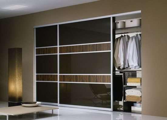 Разновидности и преимущества встроенных шкафов-купе