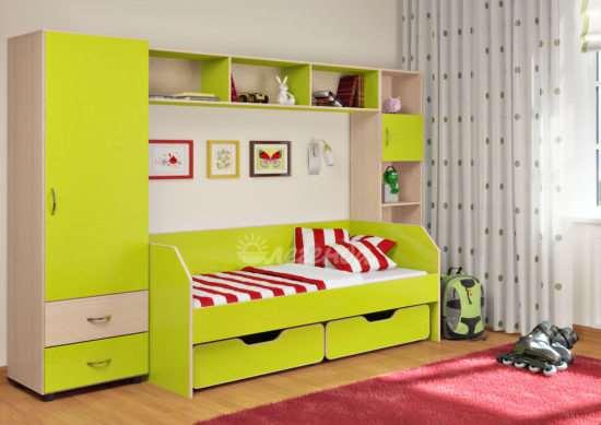 Корпусная мебель для детской комнаты. Критерии выбора
