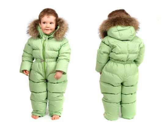 Детские зимний комбинезон – надежная защита ребенка от холода