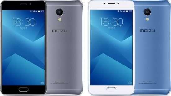 Основные характеристики смартфона Meizu M5 Note