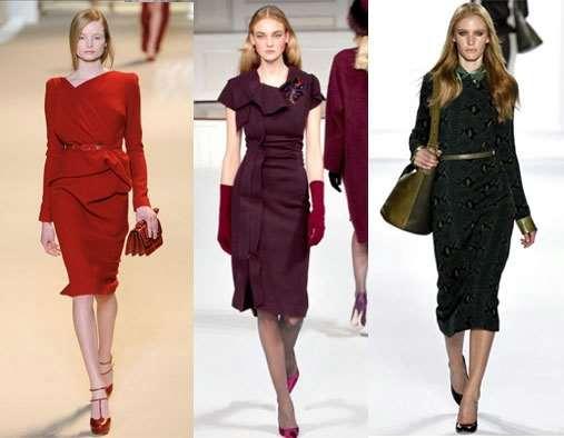 Трикотажные платья – мода навсегда