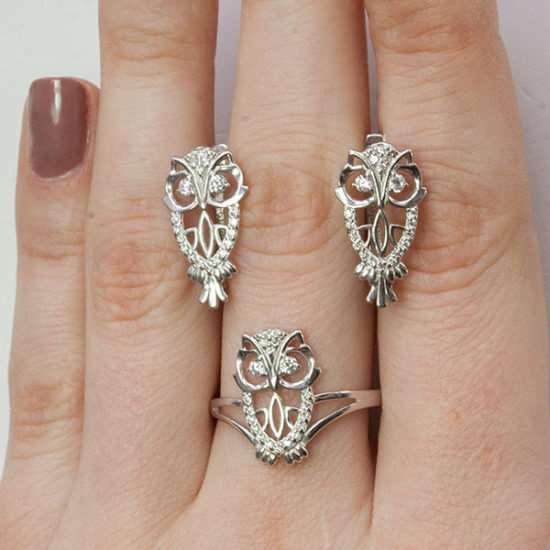 Серебряные сережки и кольца – особенности выбора украшений
