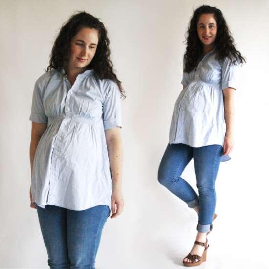 Чем руководствоваться при выборе рубашек для беременных