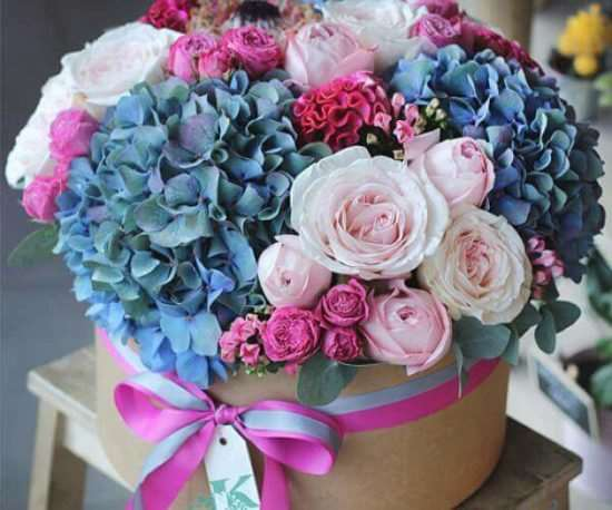 Доставка цветов – неоспоримые преимущества