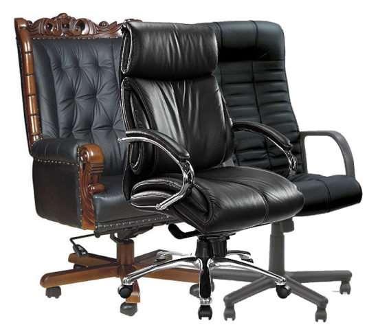 Офисные кресла для руководителя, работников и посетителей