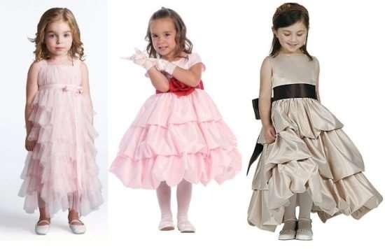 Платье для дочурки с учетом конкретных критериев