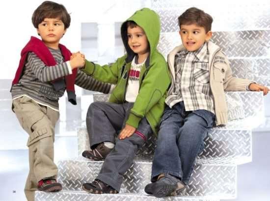 Особенности выбора одежды для мальчиков