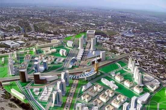 Шымкент или «зеленый город» Казахстана