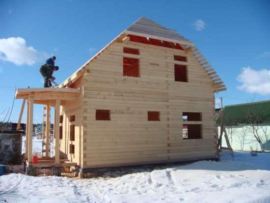 Востребованные разновидности бруса для строительства домов