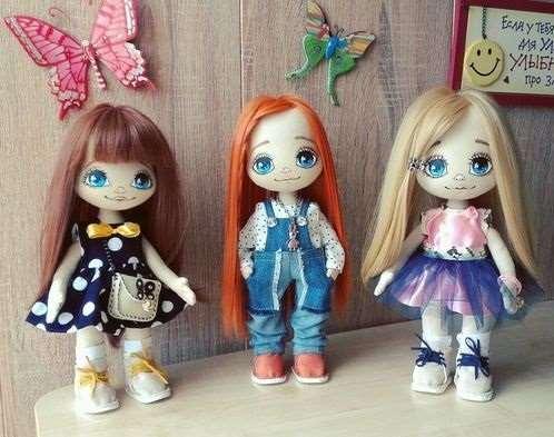 Самые популярные интерьерные куклы ручной работы