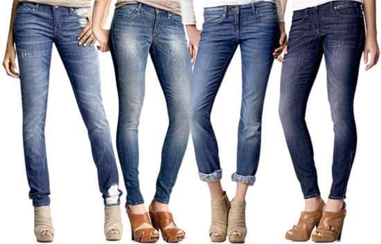 Как правильно выбрать женские джинсы по фигуре?