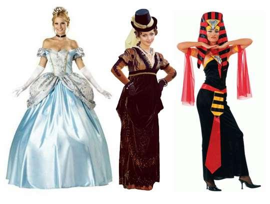 Где взять напрокат карнавальные костюмы?