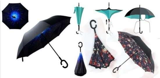 Зонт наоборот: 5 преимуществ антизонта