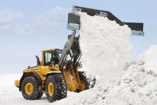 Быстрый вывоз снега в Москве с погрузкой