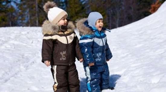 Требования при выборе зимнего детского костюма