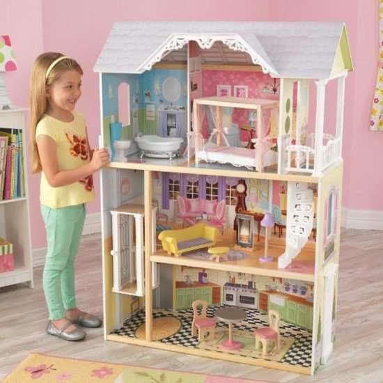 Большие кукольные домики: детские дворцы, в которых хочется поселиться