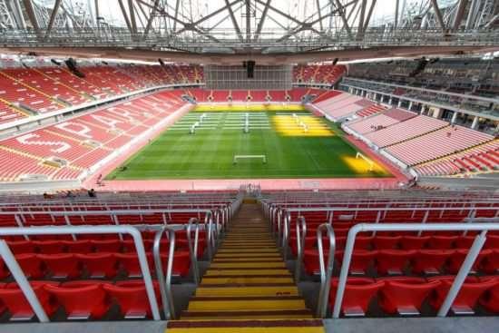 Сиденья для стадионов в Москве