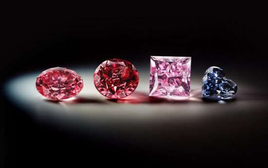 Самые редкие бриллианты - цветные