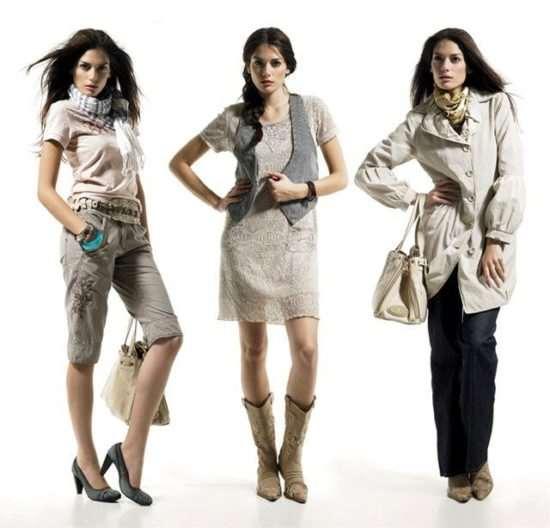 Стоковая одежда и обувь или экономия без вреда для имиджа