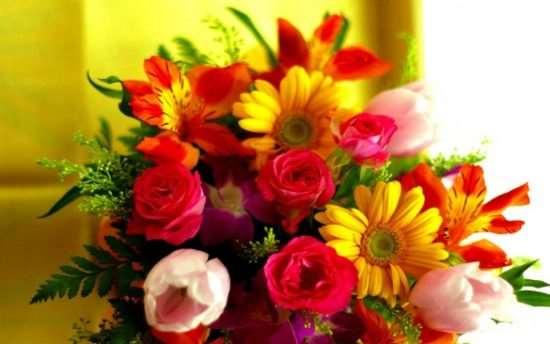 Из каких цветов лучше составлять букеты
