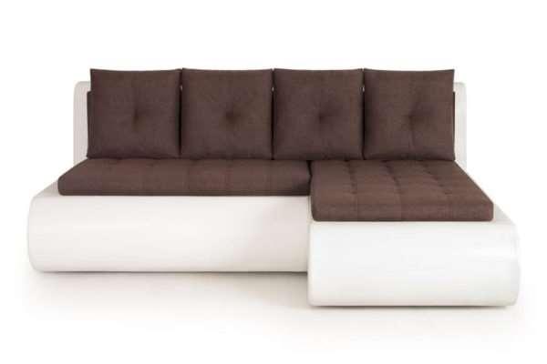 Угловой диван без подлокотников: какие бывают, для кого подойдут