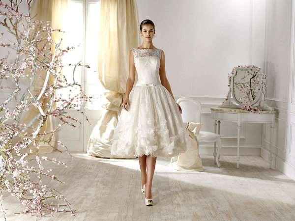 Множество причин выбрать короткое свадебное платье