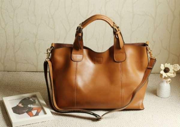 Как выбрать хорошую женскую сумку из кожи: полезные советы и рекомендации