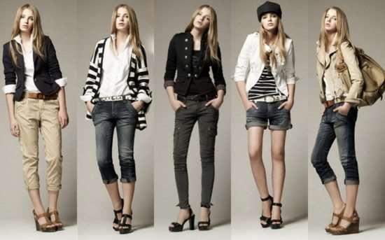 Модная молодежная одежда для стильных подростков