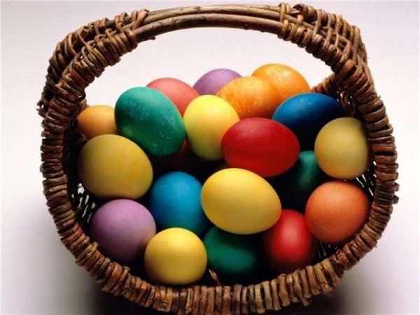 красители для яиц на Пасху