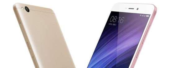 Xiaomi Redmi 4A – самый бюджетный смартфон в линейке