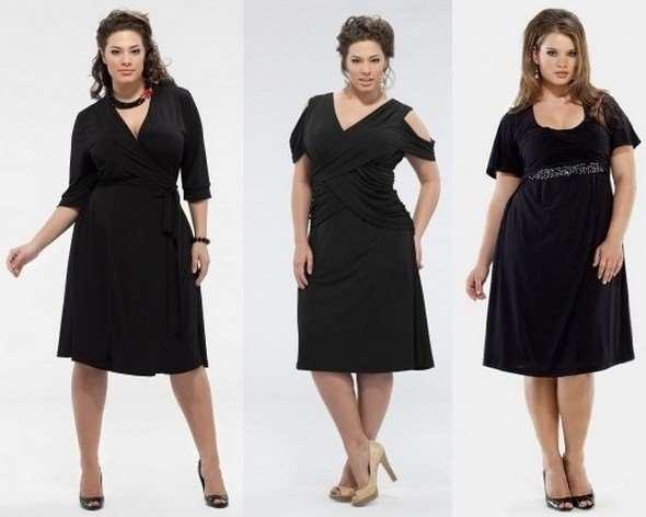 Как выбрать платье для пышной дамы?