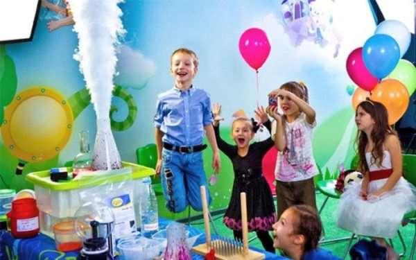 Особенности проведения детских шоу-программ