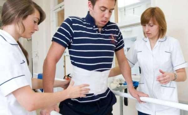 Реабилитация после травм спины