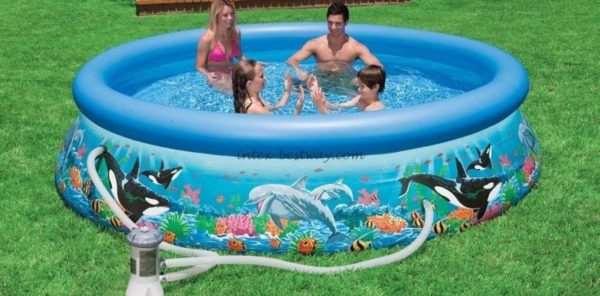 Виды и особенности надувных бассейнов