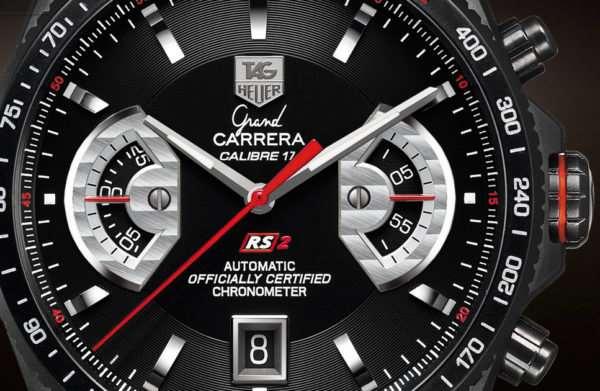 Точная копия престижных часов Tag Heuer Carrera Calibre 77