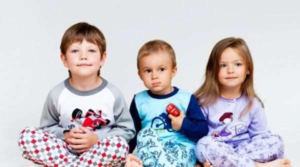 Детские пижамы для самых маленьких от производителя olioli.com.ua